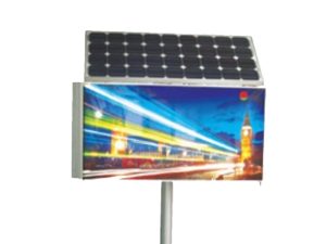 Solar LED display